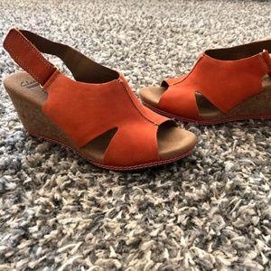 Clarks Helio Float Wedge Sandal